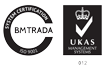 Gillards Worldwide Warehousing & Distribution - BM Trada Certification ISO 9001:2008